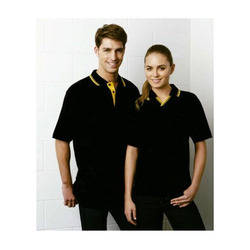 Contrast Polo T Shirt