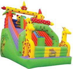Giraffe Theme Slide Bouncy