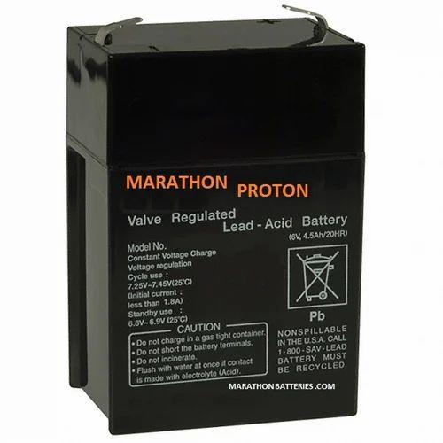 Rechargeable Battery 6 Volt 4 5ah Battery