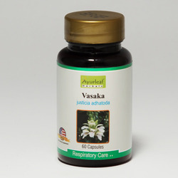 Herbal Respiratory Care Vasaka Capsules