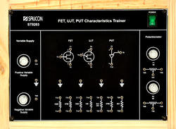 FET,UJT & PUT Trainer - ST9203