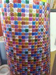 PVC Multi Color Decorative Window Film, Size: 17.91 X 1.5 X 1.5 Inches