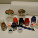Glass Painting Materials