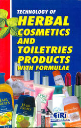 Bunch of 5 Books on Cosmetics (Herbal, Synthetic) Formulaes