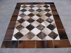 Patch Work Leather Carpet
