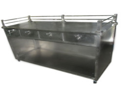 Steel Display Counter