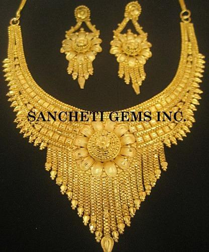 Imitation Gold Jewelry Costume Fashion Jewelry Sancheti Gems