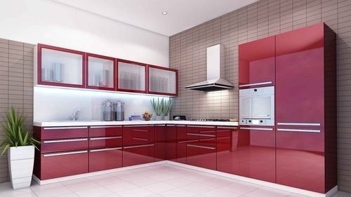 Modular Kitchen L - Shape, Kitchen & Dining Furniture | Hettich ...