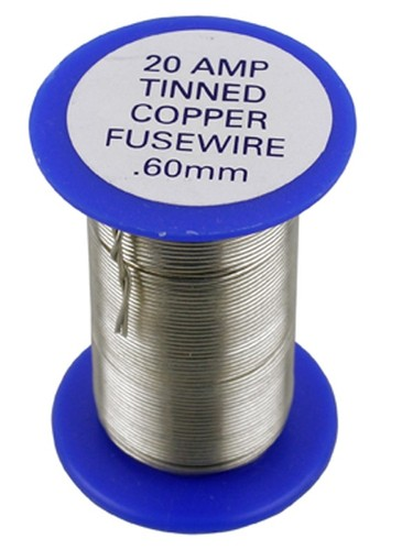 Thinned Copper Fuse Wire 05 Amps To 300 Amps - Eastern Electrical ...