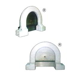 Black/ Brown/ Ivory Circular Aluminium Cash Counter Window