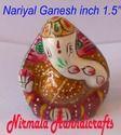 Meenakari Coconut Ganesha