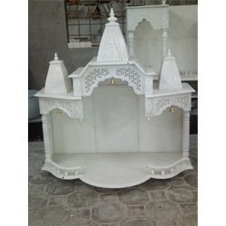 Exquisite Marble Temple for Pooja Room