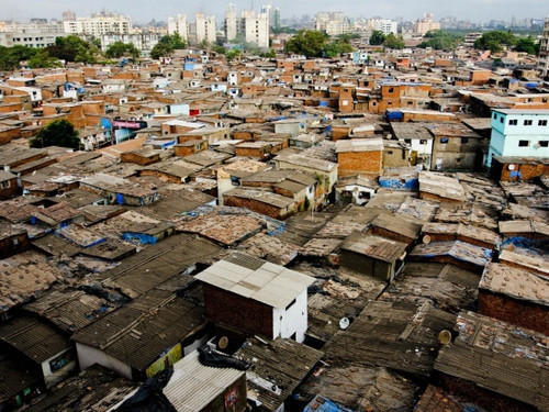 Image result for Dharavi Slum mumbai images hd