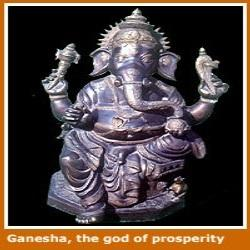 Elephant Ganesha Statue God Goddess Statues Indian