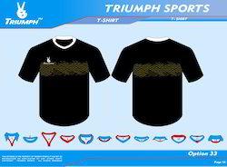Tennis Printed T Shirt