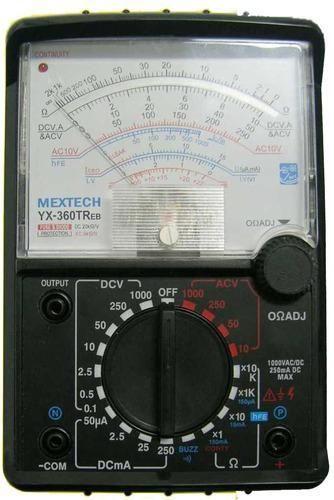 mextech analogue multimeter usage industrial laboratory rs 900 rh indiamart com Multimeter Sanwa Yx 361 Multimeter Sanwa Yx 361