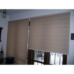 Wood Horizontal Roll Up Blinds