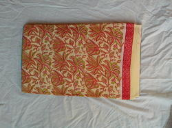 Rapid Hand Block Print Single Bedsheet