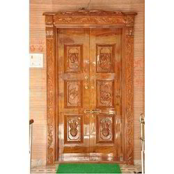 Wooden and Fiber Door
