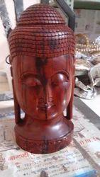 Red Sandalwood  Buddha Statue