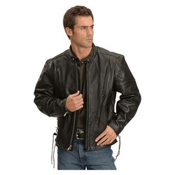 Mens Leather Jackets for Bikers Exporter in India