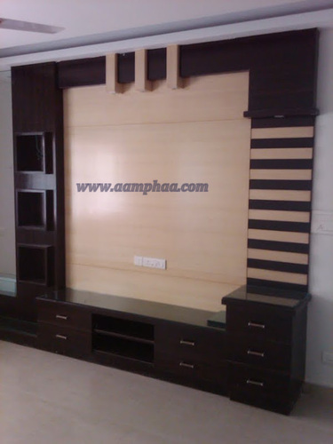 Wooden Showcase Designs For Living Room Tv Unit Aamphaa Projects Chennai Id 9107297773