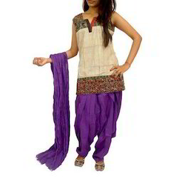 Purple Patiala Salwar