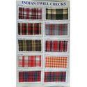 Indian Twill Checks Fabric