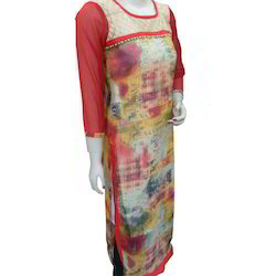 Multi Color Long Kurti