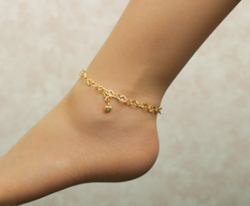 design anklet snake women dp flat plated gold buy chain for memoir ghungroo