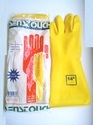 Senstouch Yellow Rubber Hand Gloves