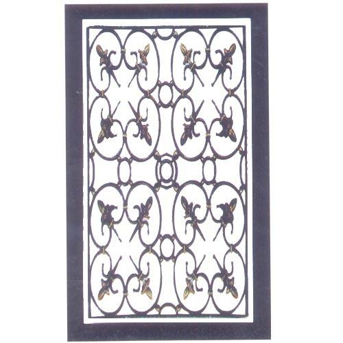 Gate Grill Iron Grill: Wrought Iron Grill, Gate, Grilles, Fences & Railings