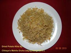 Dried Potato Khis Wafers