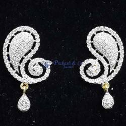 American Diamond Stone Earring Tops