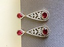 Ruby AD Earrings
