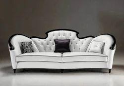 French White Capella Sofa
