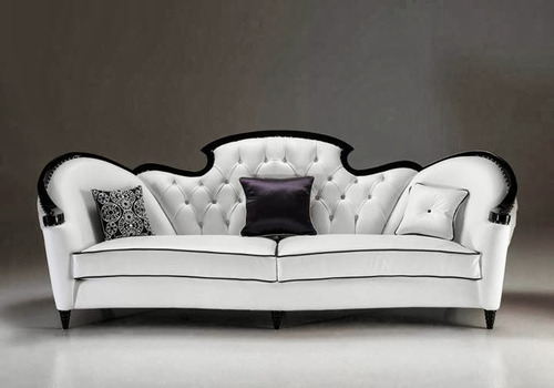 French White Capella Sofa