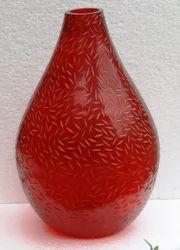 Designer Glass Flower Vase
