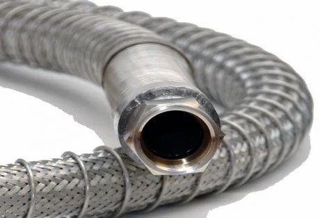 Wire Braided Stainless Steel Flexible Hose  sc 1 st  IndiaMART & Wire Braided Stainless Steel Flexible Hose - Flexiflow Industries ...