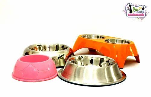 Dog Plastic & SS Bowls