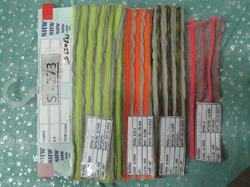 Poly Cotton Florescent Stripe Fabric