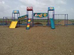 Kids Playground Combine Slide Set