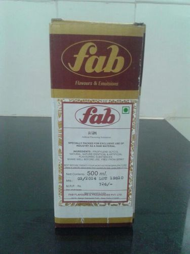 Cola Flavours, Pack Size: 500 Ml