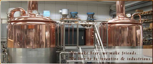 Copper Plated Brewing Equipment