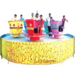 Cup and Saucer Amusement Ride