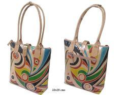 Leather Hand Painted Bag