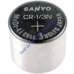 Sanyo Cr 1/3n 3v Button Cell Lithium Limno2 Battery