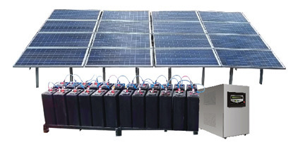 Mounting Structure Off Grid Solar Power System, For Industrial, Rs 70000  /kw | ID: 10357774312