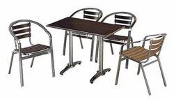 Aluminium Cafeteria Chairs