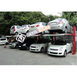 Stainless Steel Dual Level Car Parking